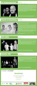 SPIELPLAN - Freies Theater Tempus fugit - Seite 2