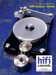 VPI Scout / Aries - hifi&records - 01/2004 - HEAR GmbH