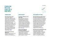 Green Tech Valley Newsletter, Juni 2013 - Eco World Styria