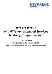 Wie Sie Ihre IT mit Hilfe von Managed Services leistungsfähiger ...