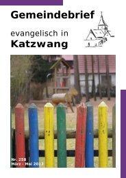 Nr. 258 März - Mai 2013 - Evangelisch-Lutherische ...