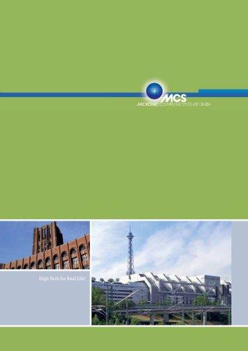 MCS Imageprospekt zum Download - mcsberlin.de