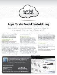 Autodesk PLM 360 Produktentwicklung