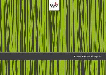 egoconcept Messestand - DMS Nord Display