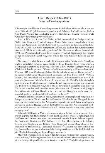 Carl Meier (1814 - 1891). Maler und ... - Bezirk Oberfranken