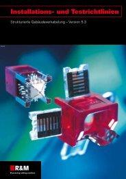 Installations- und Testrichtlinien, 2011 (2,02 MB) - R&M