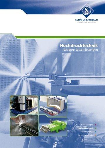 Hochdrucktechnik - SCHÄFER & URBACH