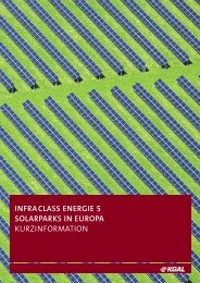 infraclass energie 5 solarparks in europa kurzinformation