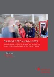Kurzbericht 2012 - Sparkasse Lüneburg