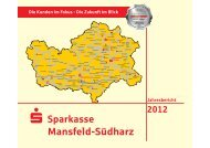 2012 - Sparkasse Mansfeld-Südharz