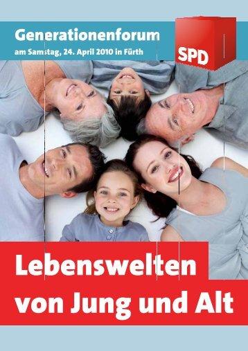 G Gene era tion nen nfor rum m - SPD Fürth