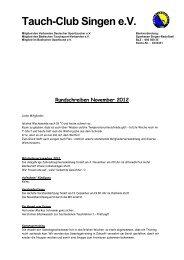 Rundschreiben November 2012.pdf - Tauch-Club-Singen
