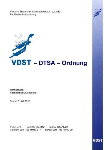 VDST Deutsche Tauchsportabzeichen (PDF) - Tauchclub Plattling