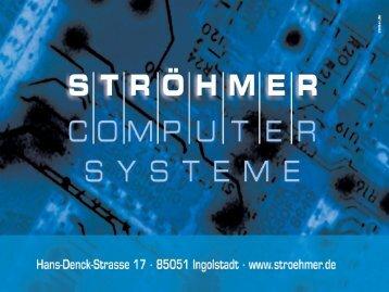Firmenpräsentation - Stroehmer Computersysteme