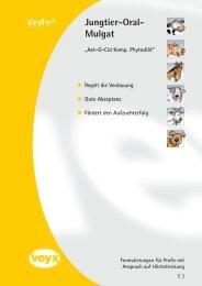 Jungtier-Oral- Mulgat VeyFo® - Veyx-Pharma GmbH