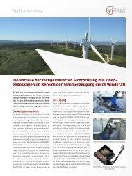 Application story Die Vorteile der ferngesteuerten Sichtprüfung mit ...