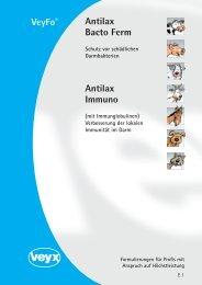 Antilax Bacto Ferm VeyFo® Antilax Immuno - Veyx-Pharma GmbH
