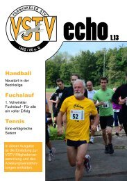 VSTVecho 1.13 - Vohwinkeler STV 1865/80 e.V. Wuppertal