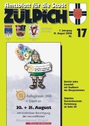 Amtsblatt1708.pdf - Stadt Zülpich
