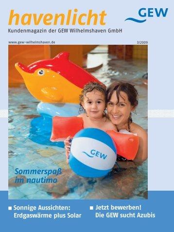 Ausgabe 03/2009 - GEW Wilhelmshaven GmbH
