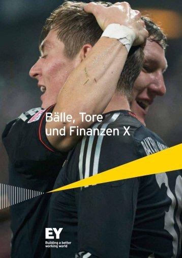 Bälle, Tore und Finanzen X - Home - EY - Deutschland - Ernst ...