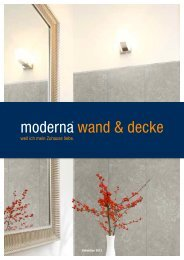 moderna Wand&Decke - BHK Holz