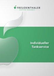 Individueller Tankservice - Freudenthaler Entsorgung