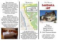 Barbara Hof - Hotel-barbarahof.de