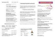 Gast-Info Nr.: 5 / 2013 - Hotel & Restaurant Oekey