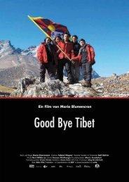Good Bye Tibet - Presseheft - Prokino