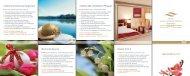 Arrangement-Broschüre 2013 - Hotel Vier Jahreszeiten Starnberg