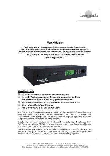 Produktinformation als PDF herunterladen - HGK Hotel- und ...