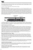 DigiTech Guitar Modeling Preamp RP 1000 Bedienungsanleitung ... - Seite 6