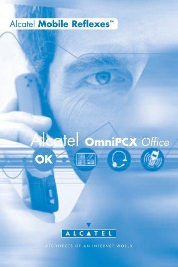 Bedienungsanleitung Alcatel Mobile Reflexes