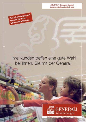 Lebensmittelhandel - Axel Lange Versicherungen