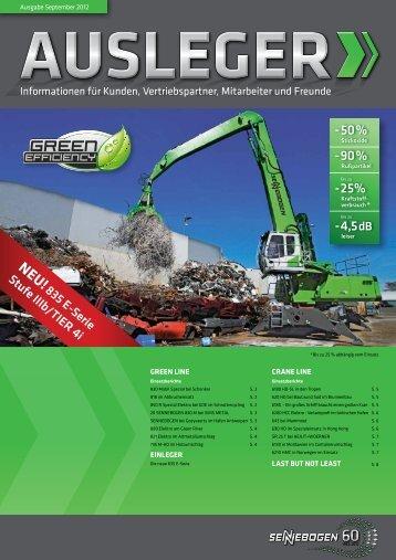 stateMent - SENNEBOGEN Maschinenfabrik GmbH