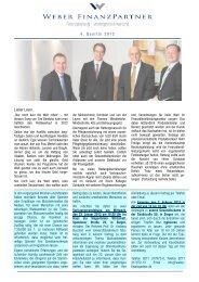 Reporting 2012 4 _Blanko - Weber FinanzPartner