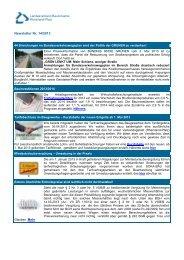 Newsletter Nr. 14/2013 - Landesverband Bauindustrie Rheinland Pfalz