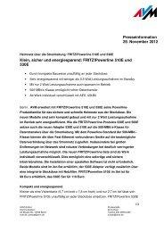 Klein, sicher und energiesparend: FRITZ!Powerline 510E und ... - AVM