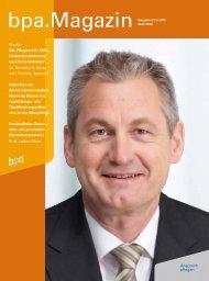 bpa. Magazin - Bundesverband privater Anbieter sozialer Dienste eV