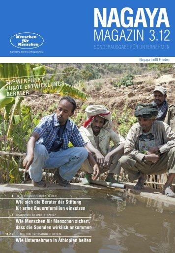 Nagaya Magazin 03/2012 Sonderausgabe für Unternehmen
