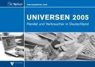 Universen 2005 - Handel und Verbraucher in Deutschland