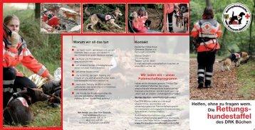 Info-Flyer - DRK Büchen