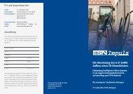 Die Umsetzung des § 21 EnWG Aufbau eines TK-Dienstleisters - ESN