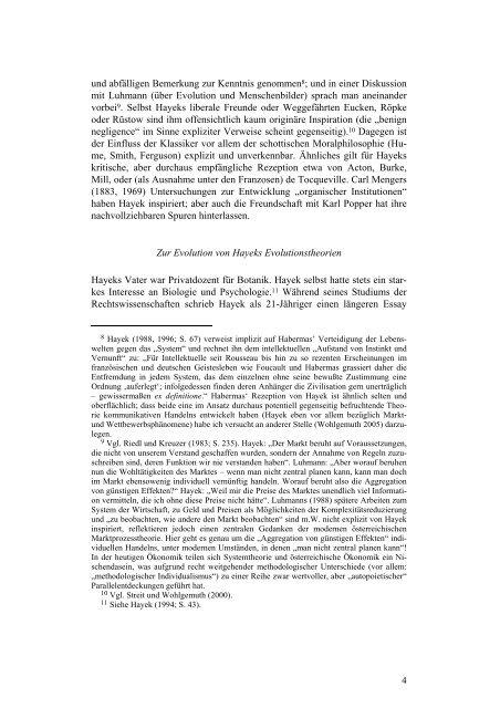 Diagnosen der Moderne: Friedrich A. von Hayek - Walter Eucken ...