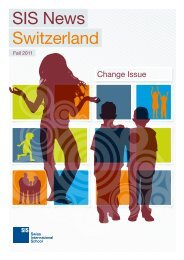 SIS News Switzerland - Swiss International School