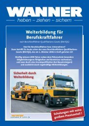 Weiterbildung.qxd (Page 1) - Gebrüder Wanner GmbH