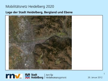Mobilitätsnetz Heidelberg 2020 - ZIV