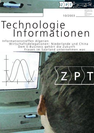 Ausgabe Oktober 2003 - ZPT
