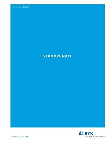 STANDPUNKTE - BYK